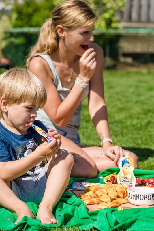 Familienpicknick im Garten 10