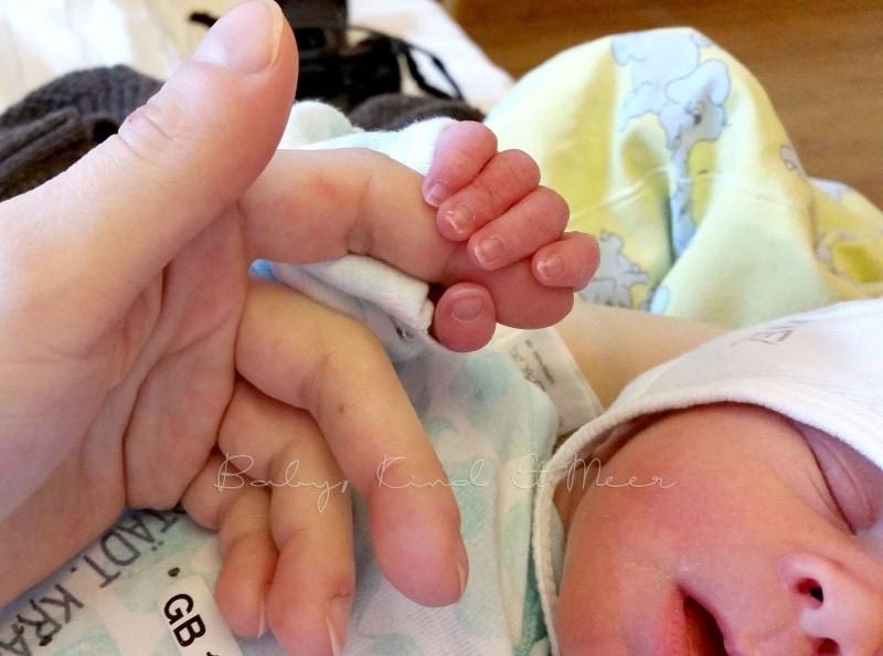 Kaiserschnitt Geburt 7