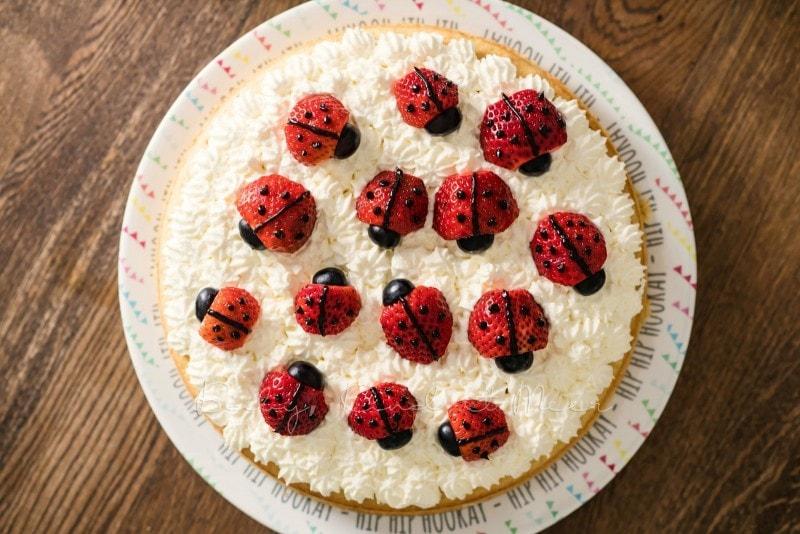Marienkaefer Torte 11