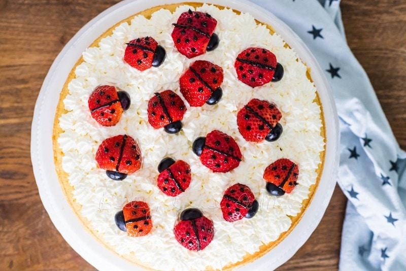 Marienkaefer Torte 8