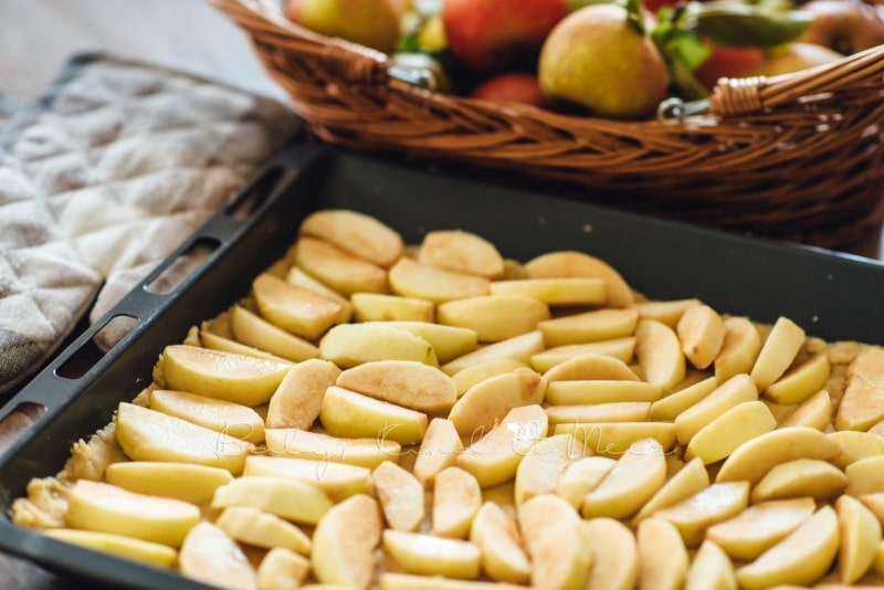 Apfelkuchen mit Marzipanguss Rezept 6