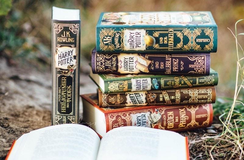 Harry Potter neue Ausgaben Carlsen 9