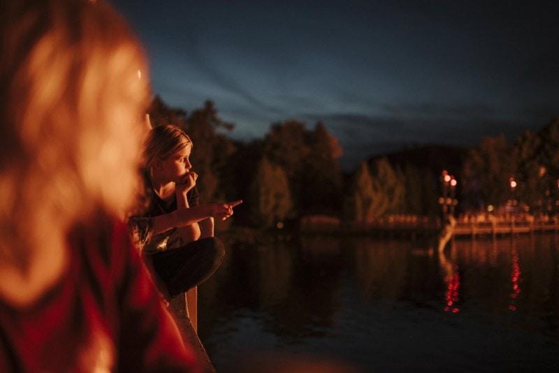 Efteling Freizeitpark im Herbst 29