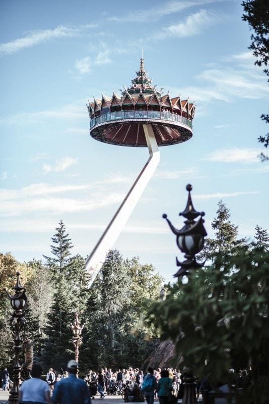 Efteling Freizeitpark im Herbst 34