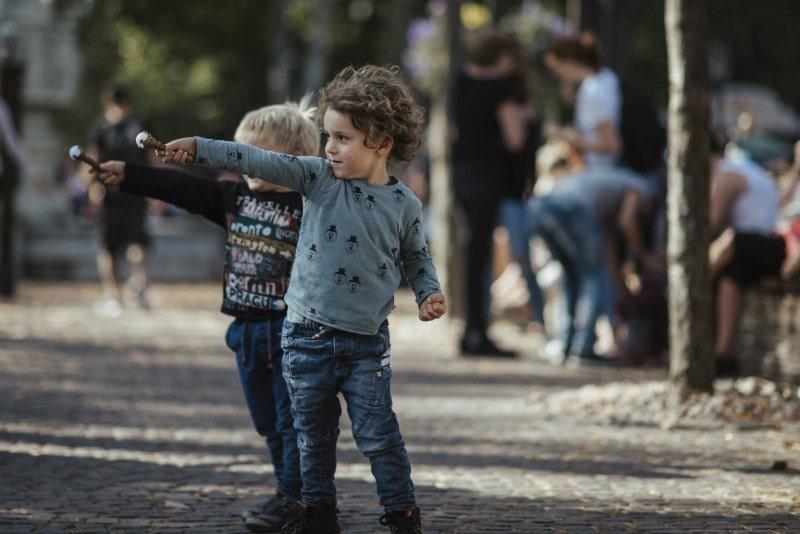 Efteling Freizeitpark im Herbst 44