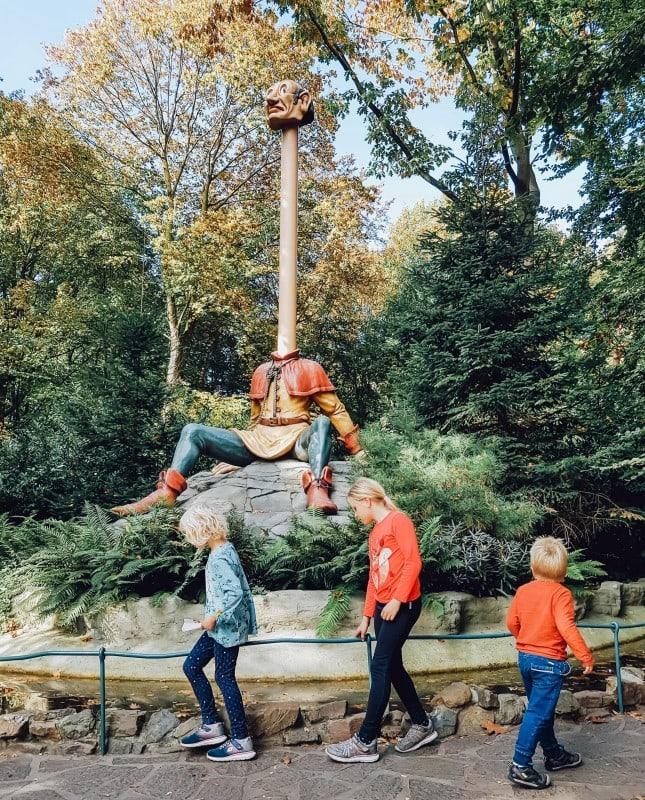 Efteling Freizeitpark im Herbst 55