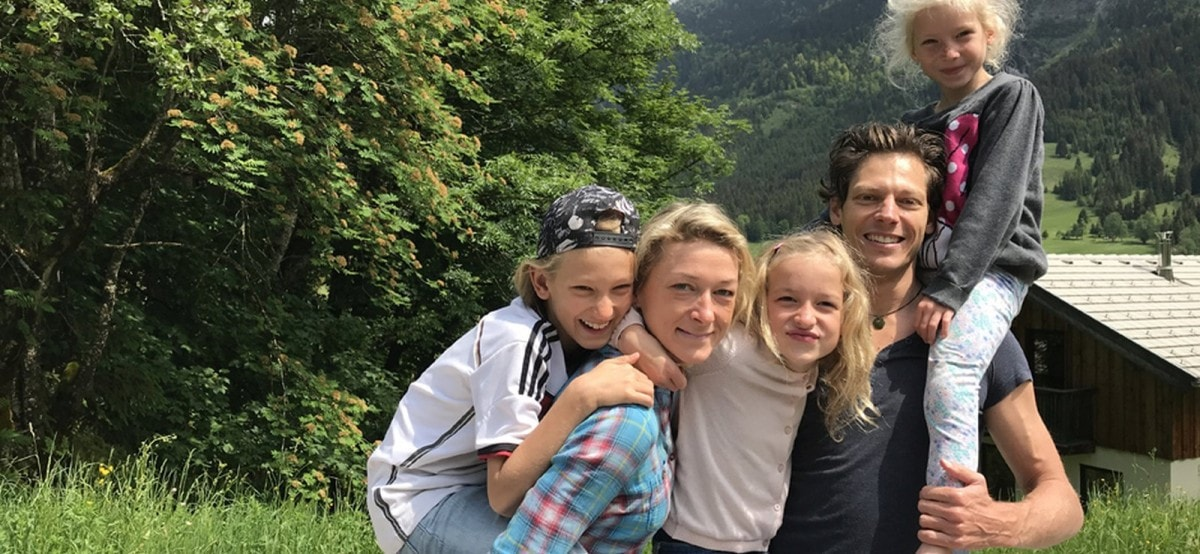 Familie auf Weltreise