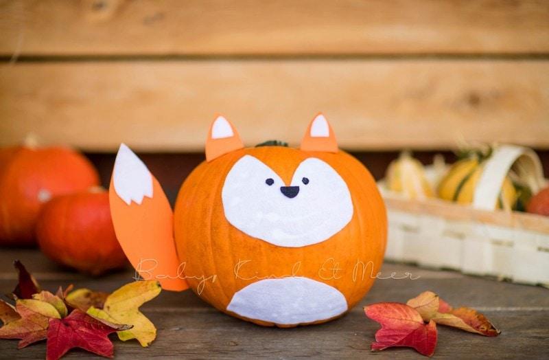 Halloween Kuerbisse schnitzen 2