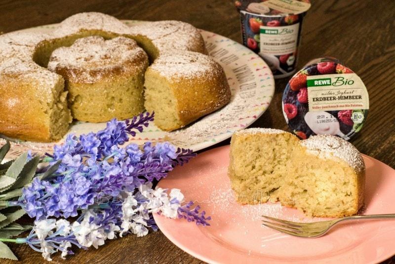 Rezept Einfacher Joghurtkuchen Mit Rewe Bio Rezepte Fur Familien