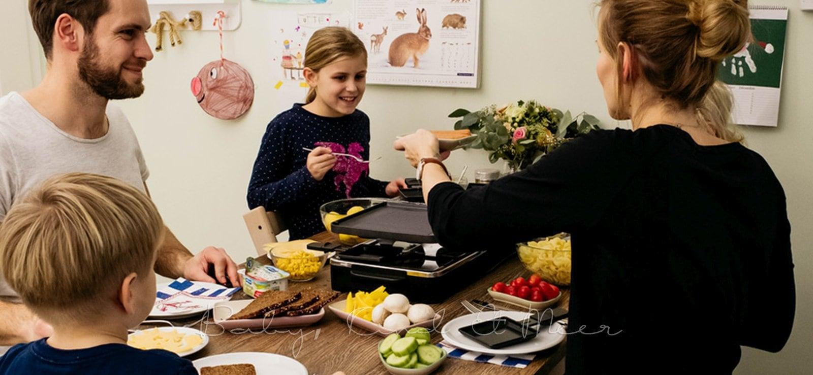 Raclette als Familie 1