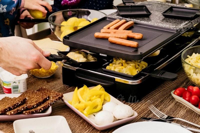 Raclette mit MILRAM 4 1