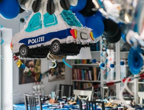 TOMS 4. GEBURTSTAG: UNSERE POLIZEI-PARTY
