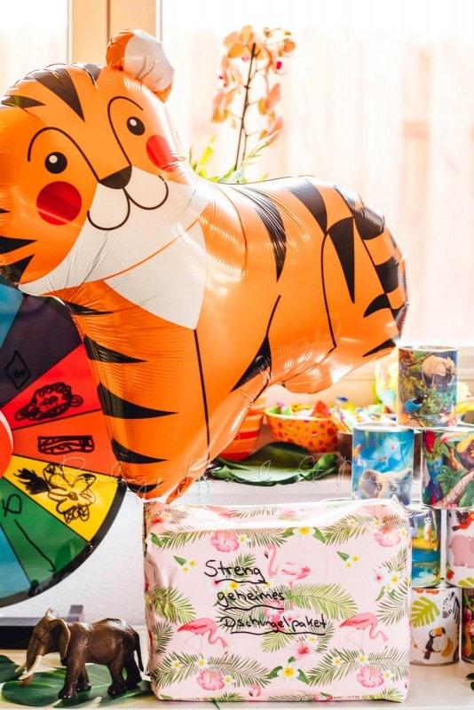 Kindergeburtstag Dschungelparty 8
