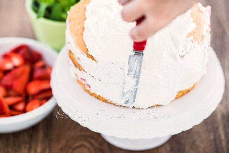 Erdbeer Tiramisu Torte Rezept 10