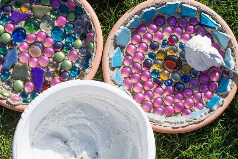 Mosaik Futterschalen 11