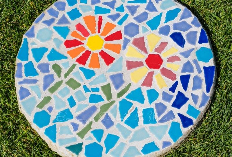 Mosaik Gehwegplatten 1