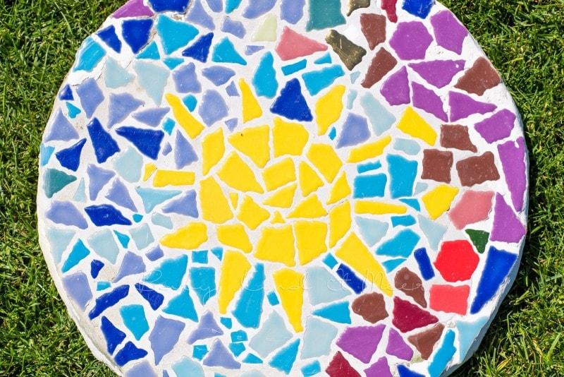 Mosaik Gehwegplatten 5