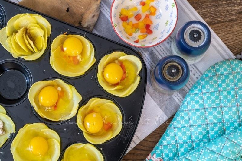 Rezept Kartoffelblumen 12