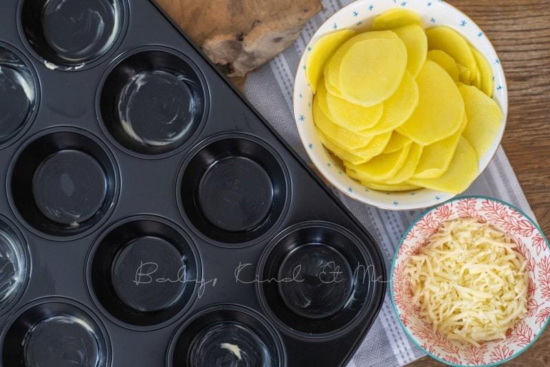 Rezept Kartoffelblumen 5