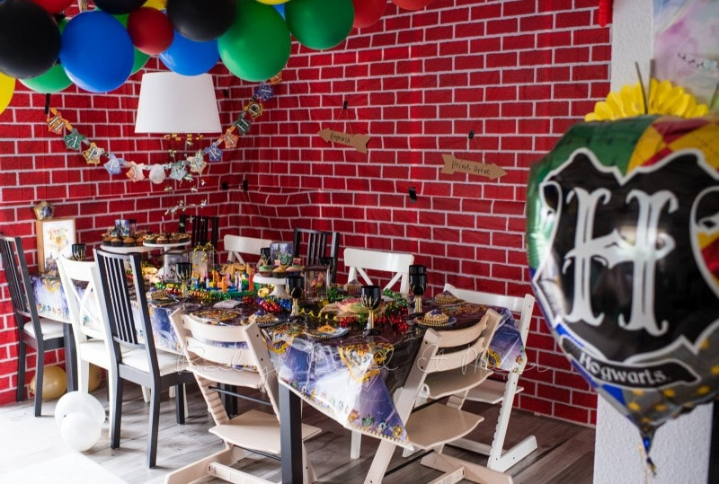 Harry Potter Party Kindergeburtstag 50