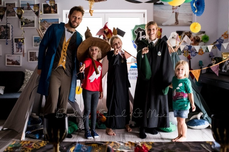 Harry Potter Party Kindergeburtstag 65