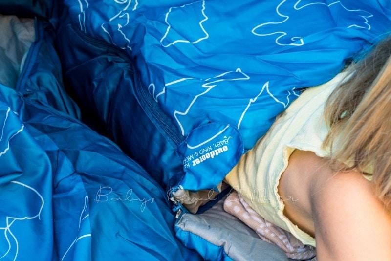 Baby Kind und Meer Schlafsack outdoorer Dream Sailor 11