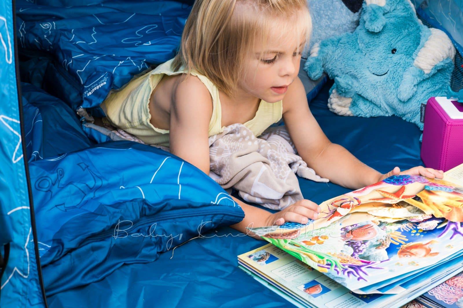 Baby Kind und Meer Schlafsack outdoorer Dream Sailor 12