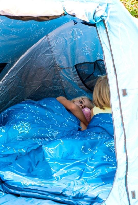 Baby Kind und Meer Schlafsack outdoorer Dream Sailor 14