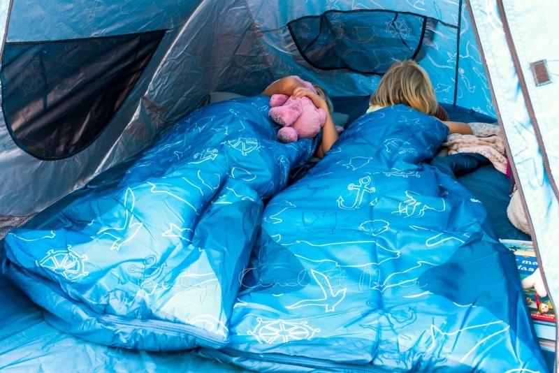 Baby Kind und Meer Schlafsack outdoorer Dream Sailor 15
