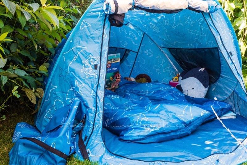 Baby Kind und Meer Schlafsack outdoorer Dream Sailor 16