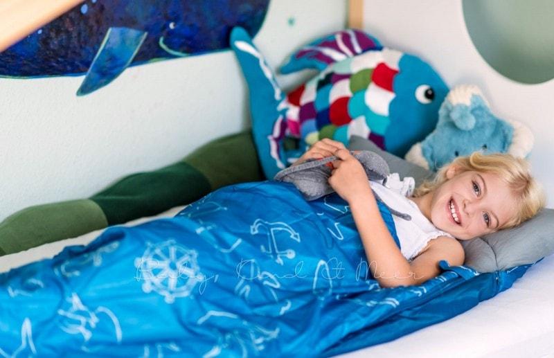 Baby Kind und Meer Schlafsack outdoorer Dream Sailor 2