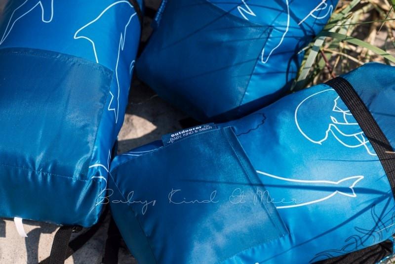 Baby Kind und Meer Schlafsack outdoorer Dream Sailor 21