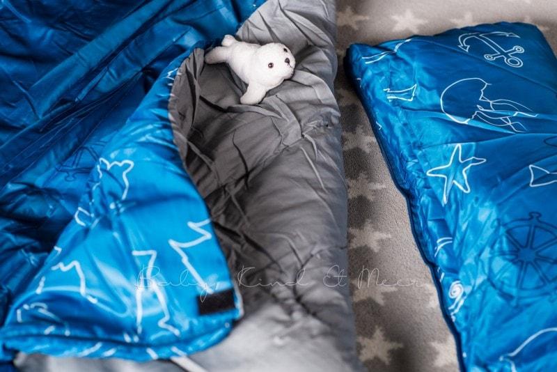 Baby Kind und Meer Schlafsack outdoorer Dream Sailor 27