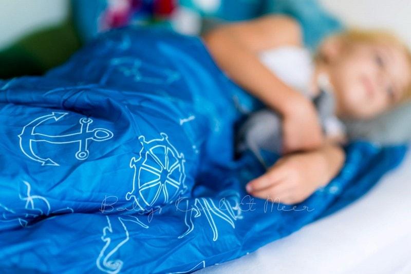 Baby Kind und Meer Schlafsack outdoorer Dream Sailor 4