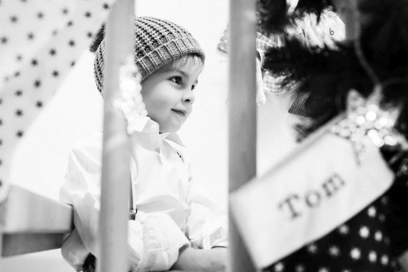Winterpause Baby Kind Meer 7
