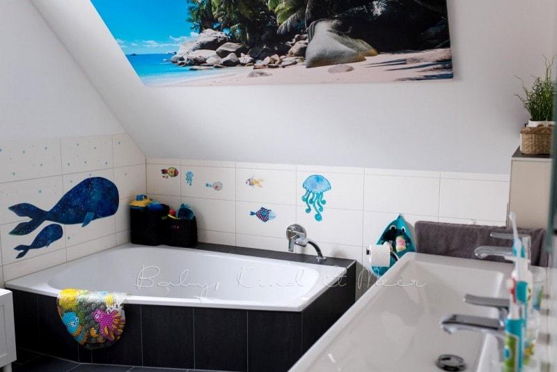 Badezimmer Roomtour babykindundmeer 3