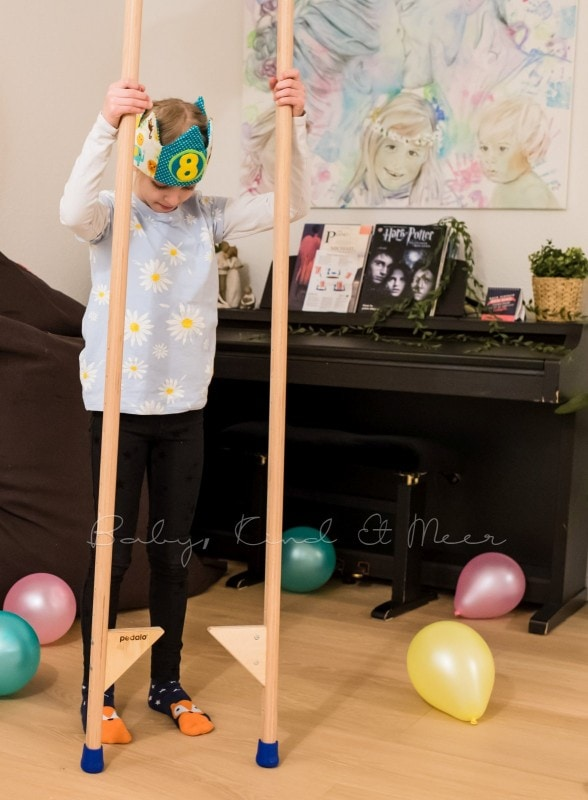 Lottes 8 Geburtstag Zauberwald Party babykindundmeer 10