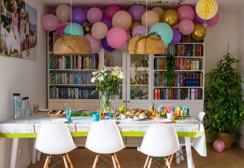Lottes 8 Geburtstag Zauberwald Party babykindundmeer 15