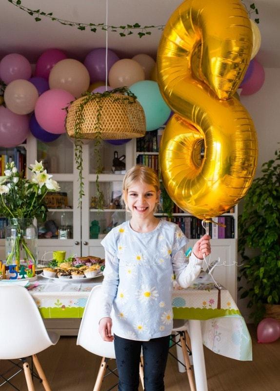 Lottes 8 Geburtstag Zauberwald Party babykindundmeer 16