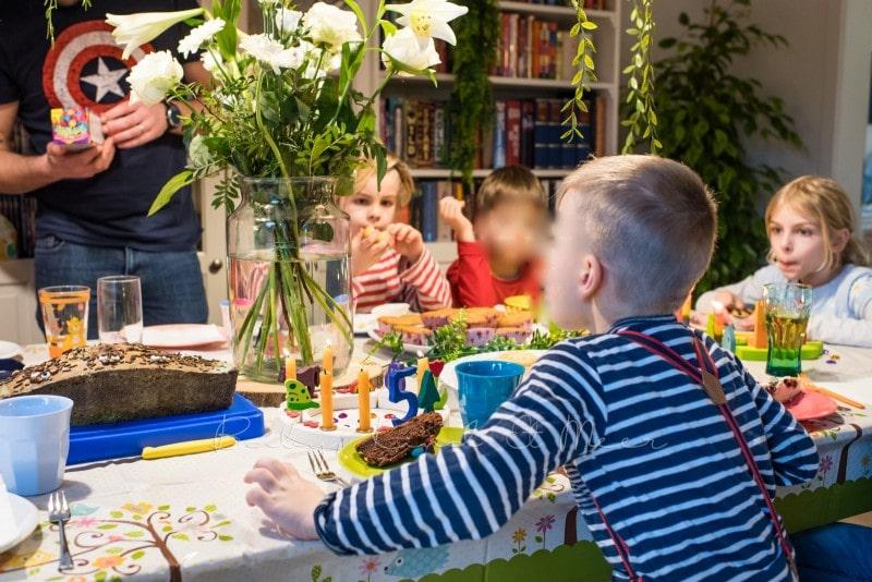 Lottes 8 Geburtstag Zauberwald Party babykindundmeer 18
