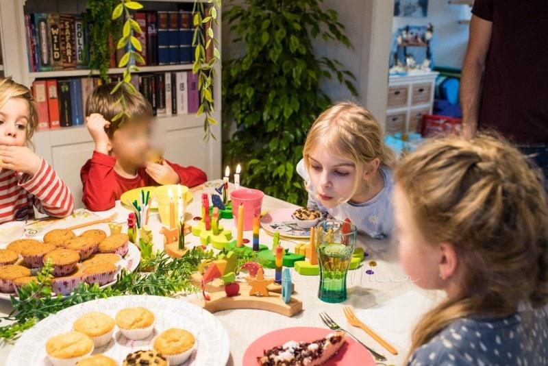 Lottes 8 Geburtstag Zauberwald Party babykindundmeer 19