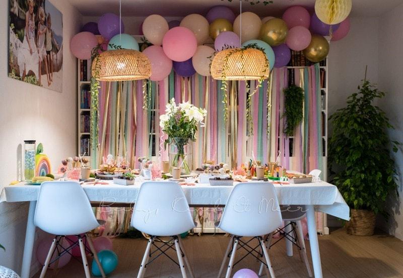 Lottes 8 Geburtstag Zauberwald Party babykindundmeer 34