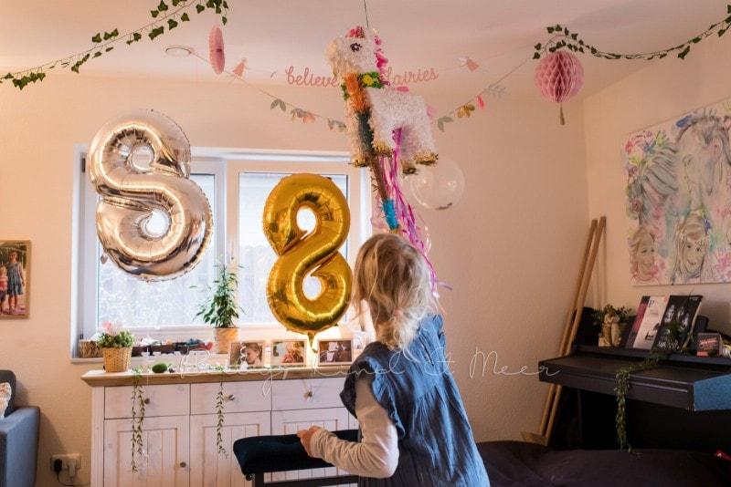Lottes 8 Geburtstag Zauberwald Party babykindundmeer 53