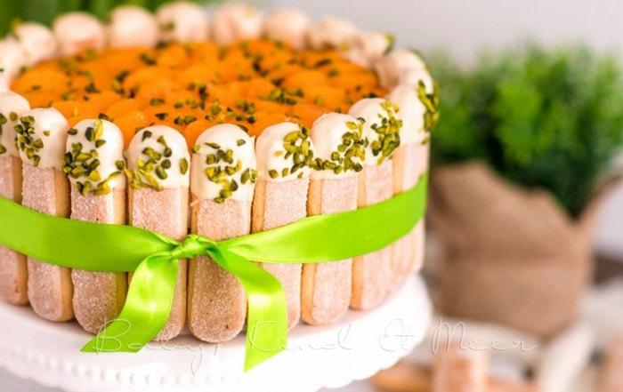 Mandarinen Mascarpone Tiramisu Torte