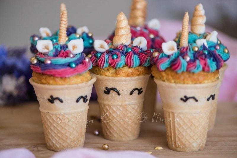 Einhorn Cupcakes Einhorn Muffins 7