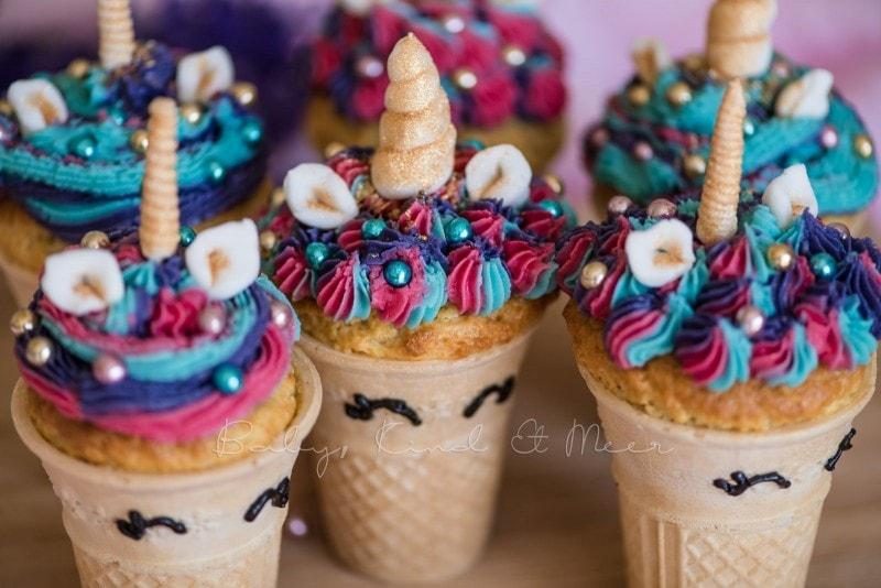 Einhorn Cupcakes Einhorn Muffins 8