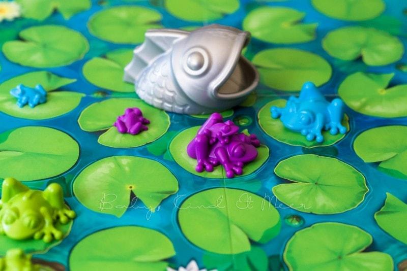 SmartGames Fisch Alarm im Froschteich 10