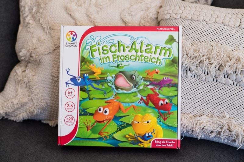 SmartGames Fisch Alarm im Froschteich 4