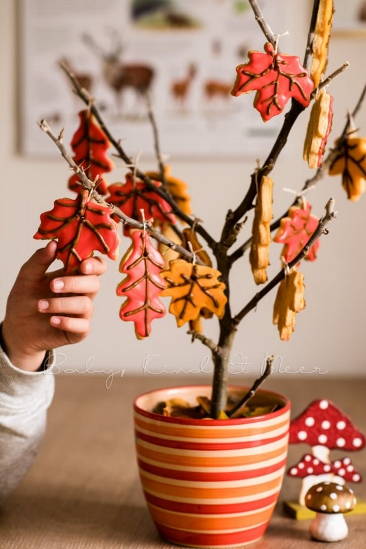 Rezept Herbst Keks Baum babykindundmeer 12