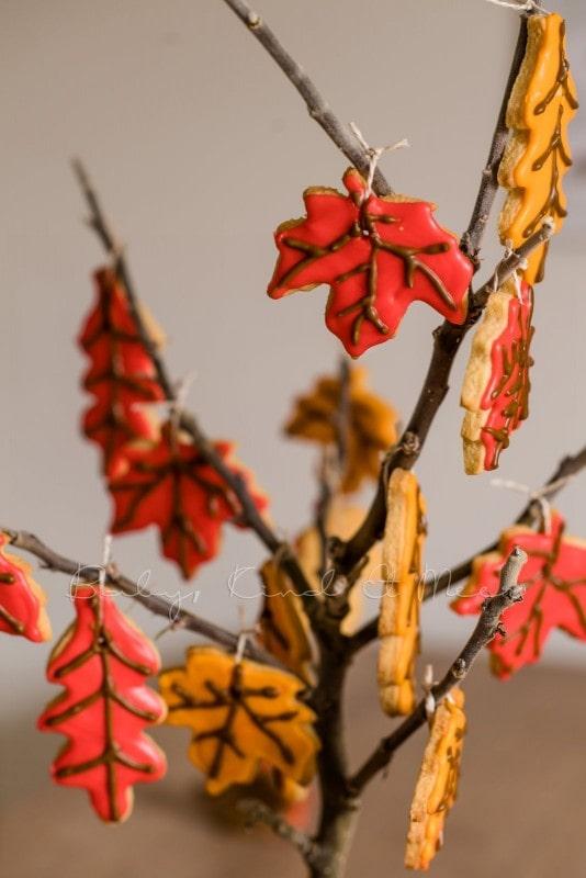 Rezept Herbst Keks Baum babykindundmeer 15